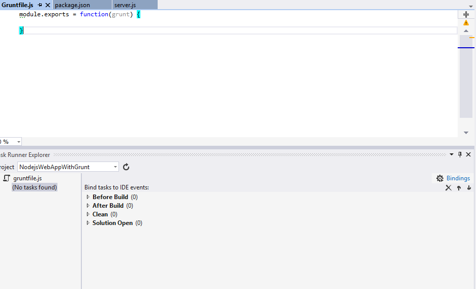 Visual Studio Task Runner