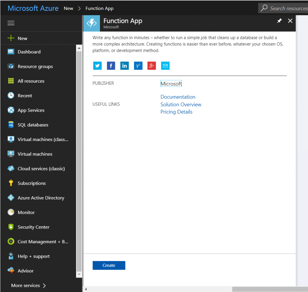 Azure functions - SendGrid to send an email from file | Taswar