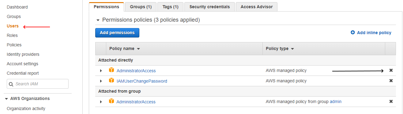 AWS-IAM-Remove-User-From-Policy