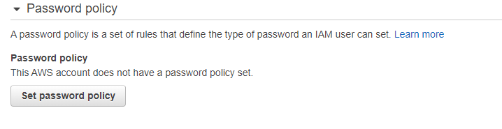 AWS-IAM-Set-Password-Policy