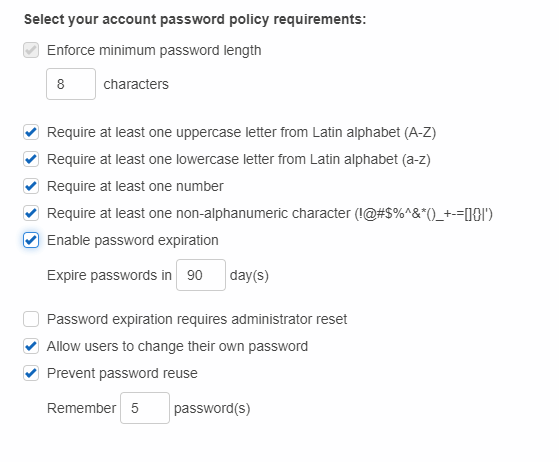 AWS-Set-Password-Policy-Sample