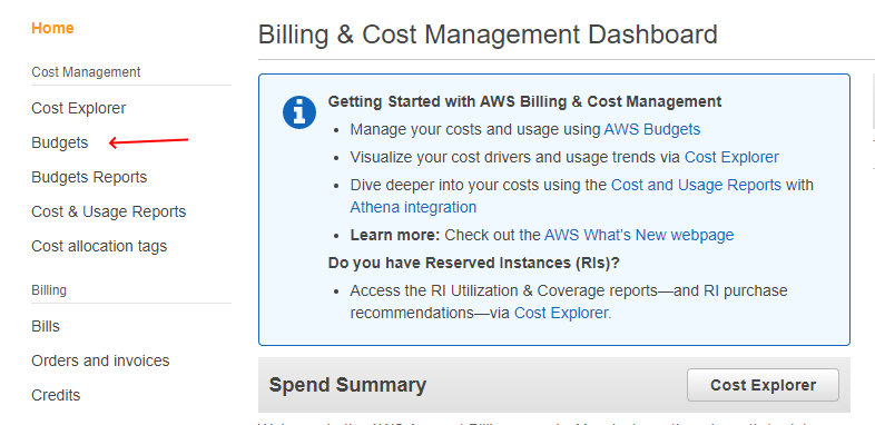 aws-my-billing-budget-menu